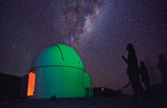 Stargazing in South Australia