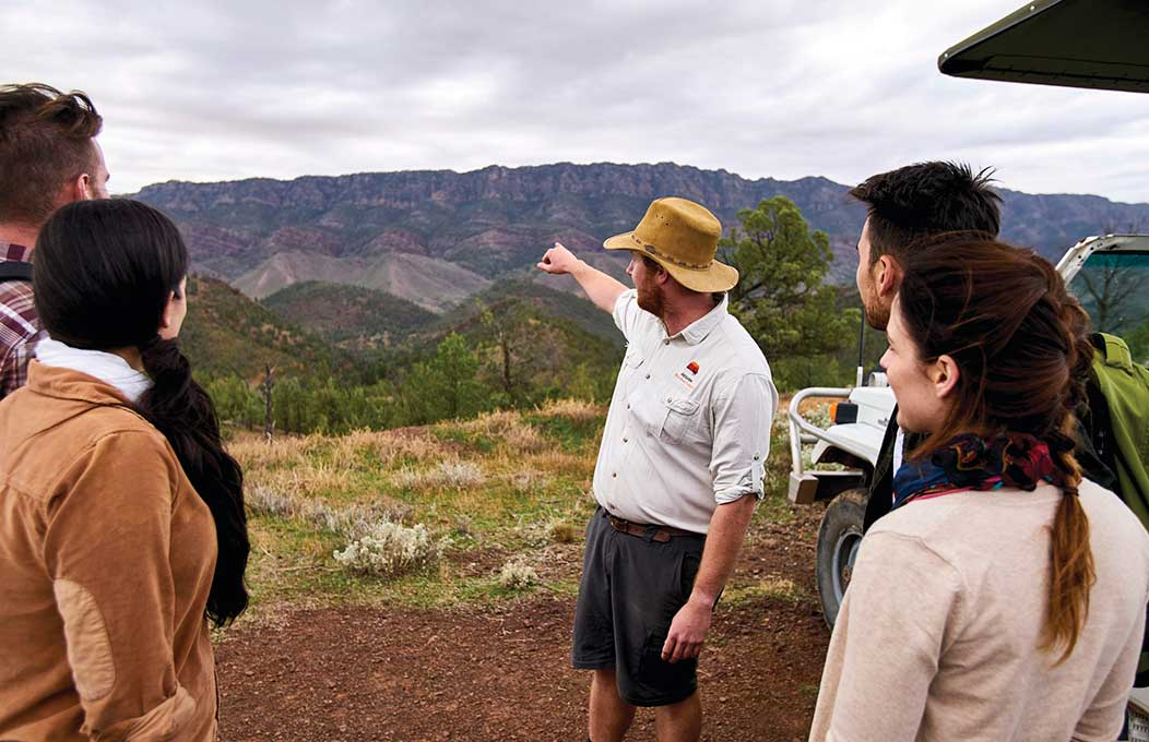 The Arkaba Walk, Flinders Ranges and Outback