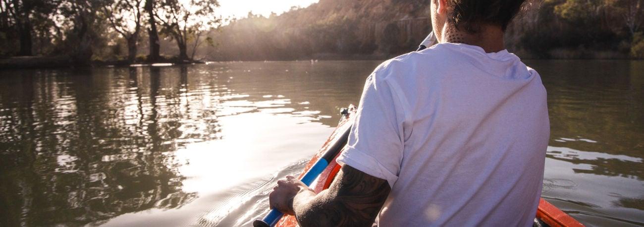 Kayaking, Riverland