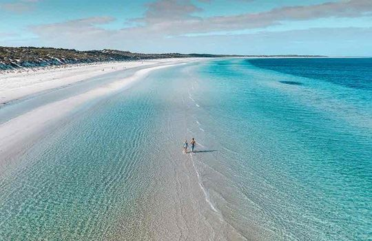 Beach paradise in South Australia