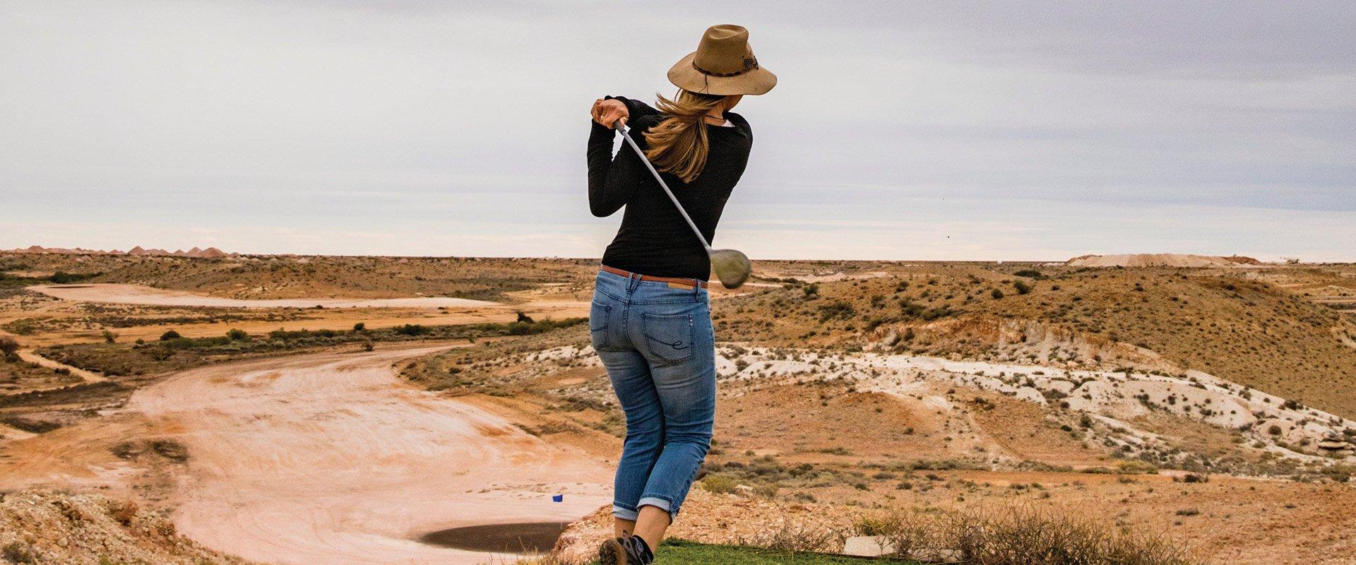 Coober Pedy Opal Fields Golf Club, Outback South Australia