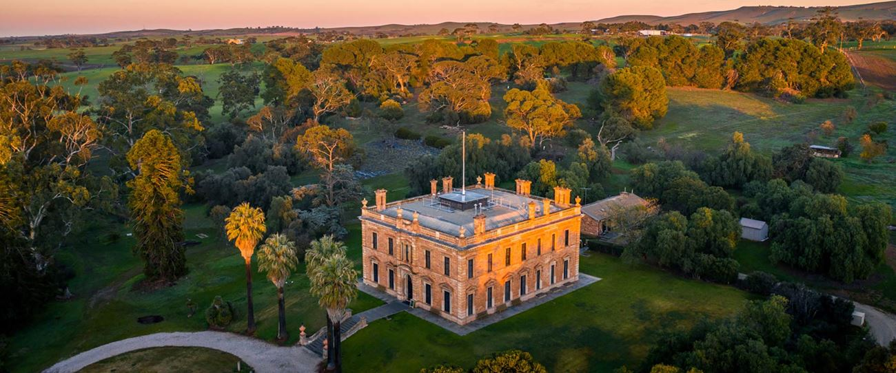 Martindale Hall, Clare Valley