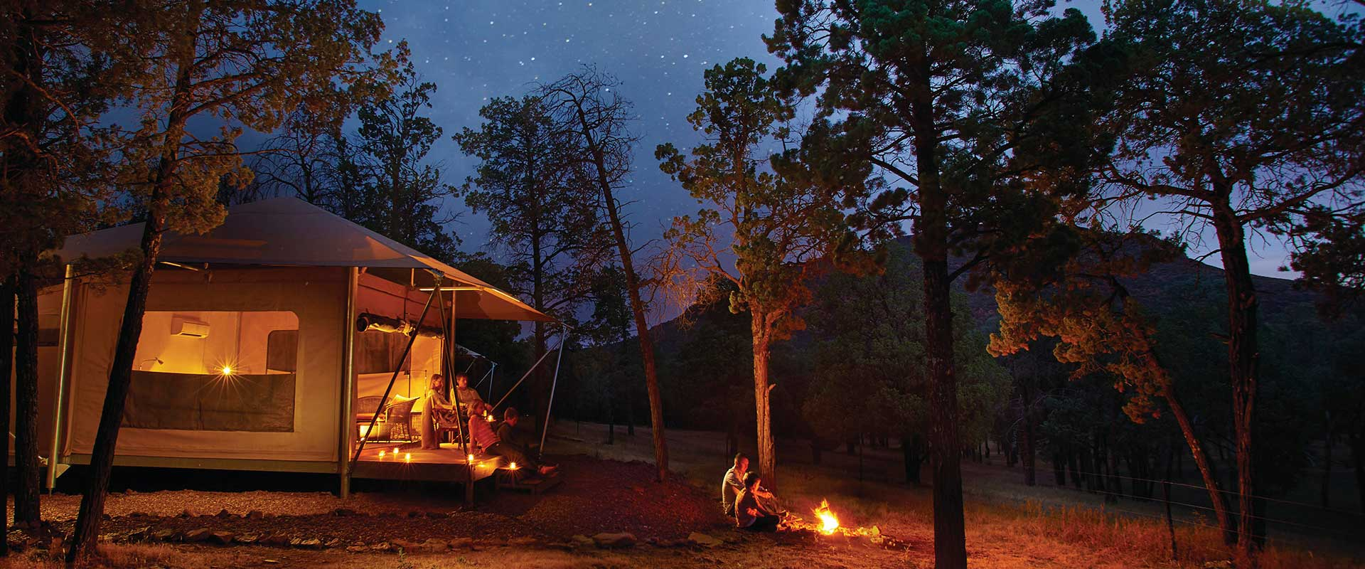 Ikara Safari Camp, Flinders Ranges and Outback