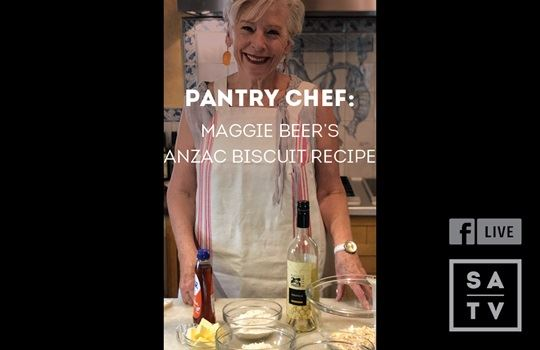 Facebook Live with Maggie Beer