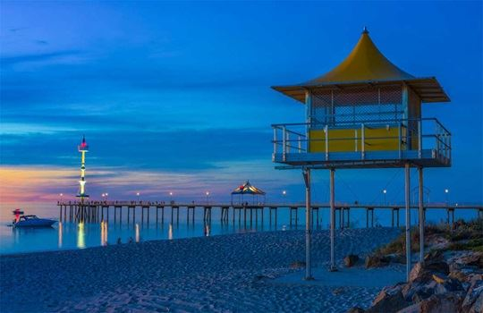 Top 5 beaches in Adelaide